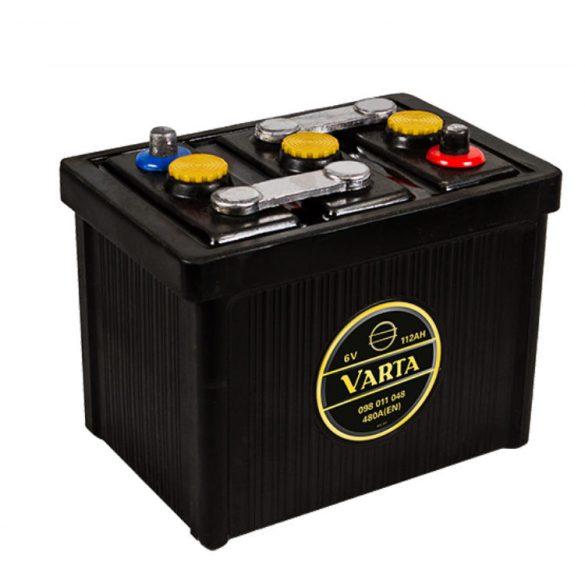 Varta Classic 6v 112Ah 480A autó akkumulátor - 098011