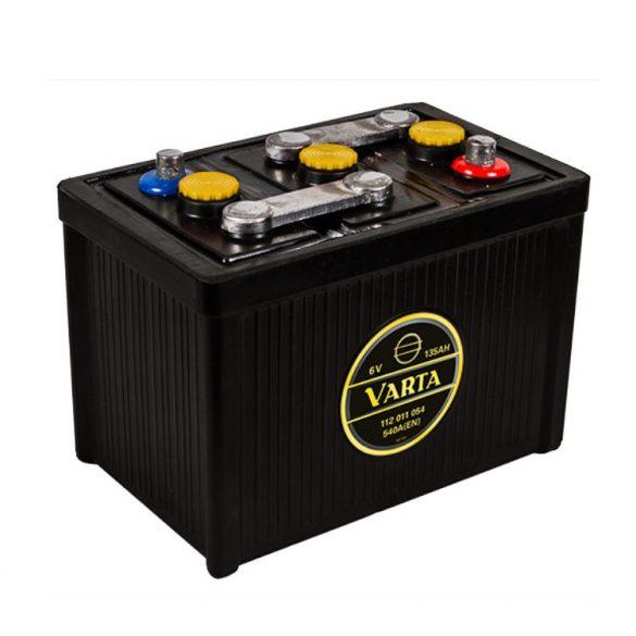 Varta Classic 6v 135Ah 540A autó akkumulátor - 112011