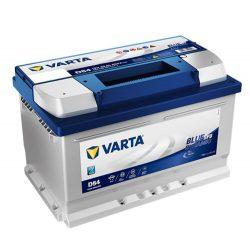Varta Blue Dynamic EFB 12V 65Ah 650A Jobb+ autó akkumulátor