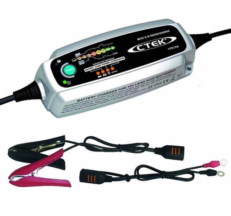 CTEK MXS 5.0 Test & Charge ak. töltő (56 308)