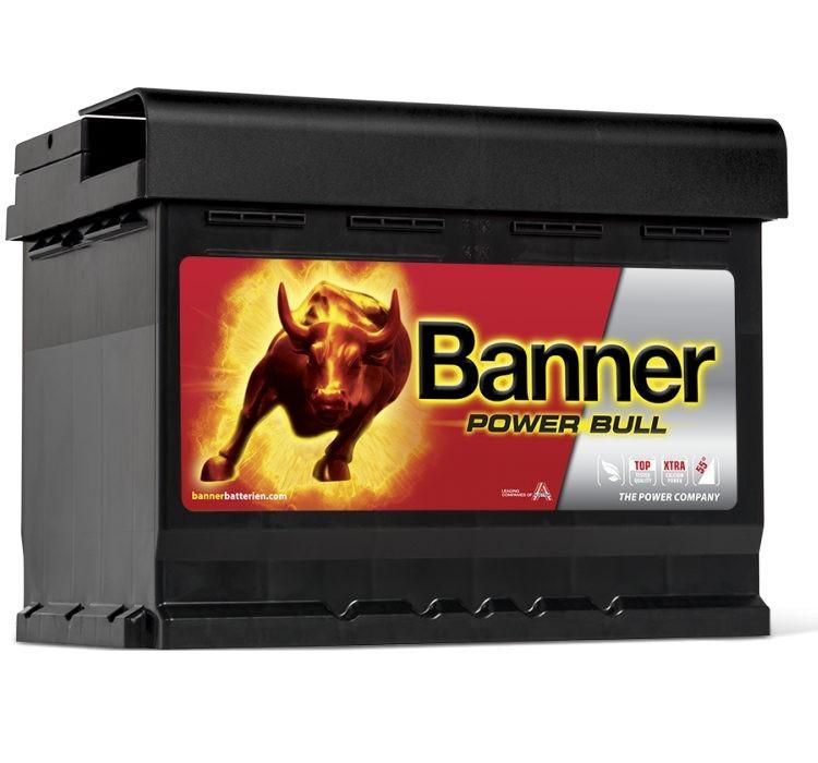 Banner Power Bull P6009 jobb pozitív 60Ah / 540A akkumulátor